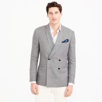 Ludlow dinner jacket in Italian linen-cotton $388 thestylecure.com