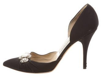 Jimmy Choo Jimmy Choo Embellished Pointed-Toe Pumps