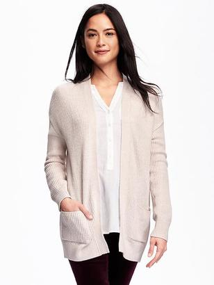 Open-Front Shaker-Stitch Cardi for Women $39.94 thestylecure.com