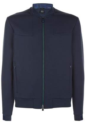 BOSS GREEN Slim-Fit Bomber Jacket