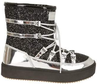 Chiara Ferragni Mirror Snow Lace-up Boots