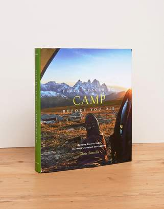 Books Fifty Places to Camp Before You Die Travel Book
