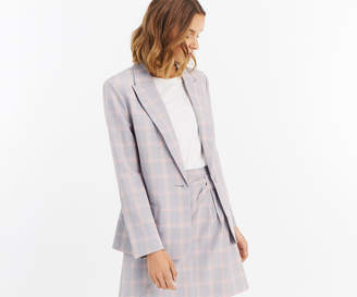 Oasis CHECK SUIT JACKET