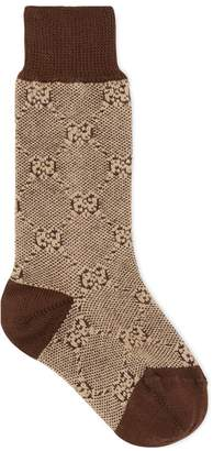 Gucci Baby cotton wool GG socks