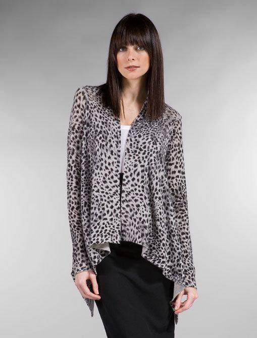 Line Tamara Open Leopard Wrap