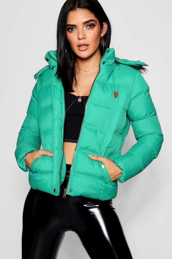boohoo Natalie Short Quilted Jacket