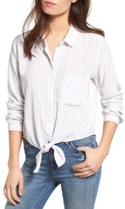 Women's Rails Val Tie Front Blouse $148 thestylecure.com