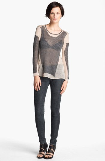 Helmut Lang 'Modern Lace' Pullover