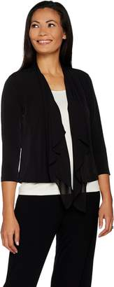 DAY Birger et Mikkelsen Every by Susan Graver Liquid Knit Cardigan with Chiffon