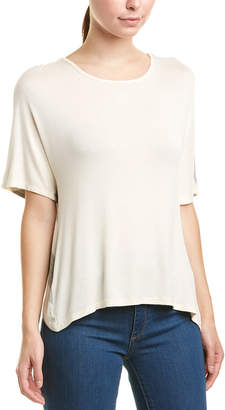 Three Dots Bias Crossover Top White