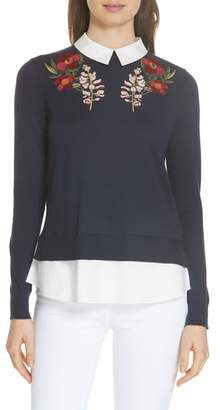 Ted Baker Toriey Layered Look Sweater