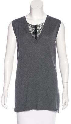 CNC Costume National Sleeveless Knit Top