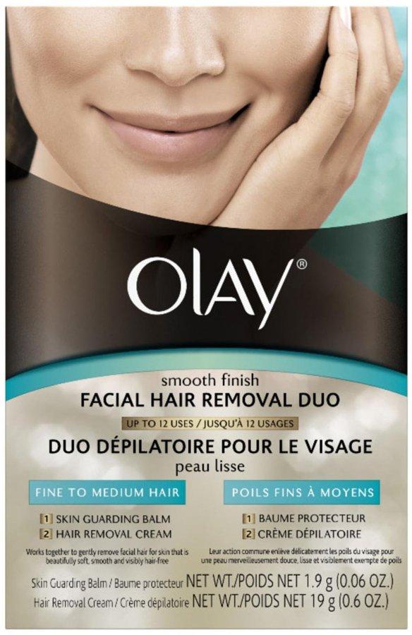 Olay Facial Hair Removal Duo, Fine to Medium Hair - 0.6 oz
