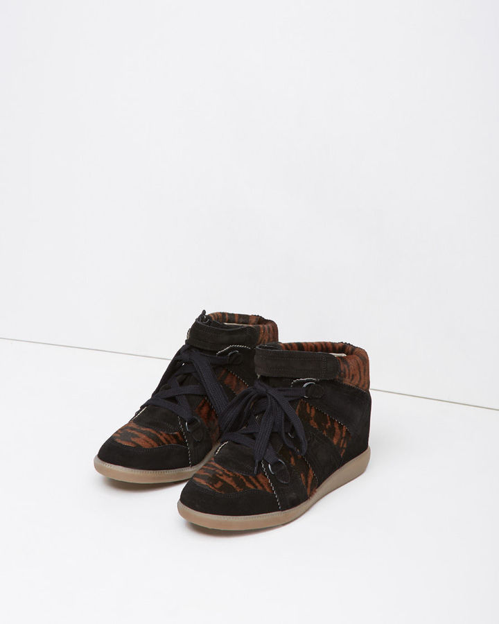 Isabel Marant Blossom Pony Sneaker