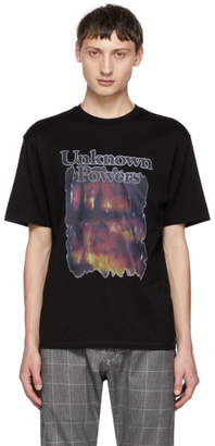 Christian Dada Black Unknown Powers T-Shirt