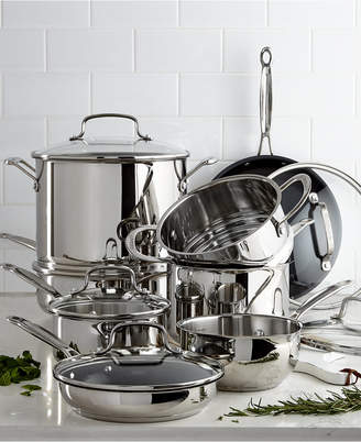 Cuisinart Chef's Classic 14-Pc. Stainless Steel Cookware Set