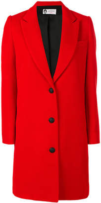 Lanvin single-breasted whipcord coat
