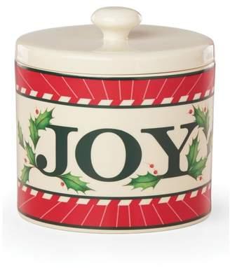 Lenox Vintage Treats Joy Canister