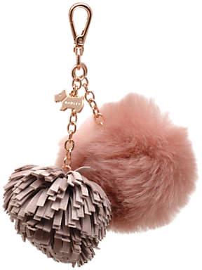 Radley Leather Pom Pom Handbag Charm