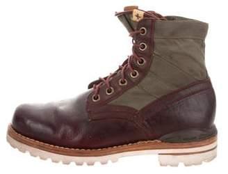 Visvim Leather Ankle Boots