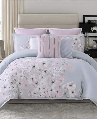 Vince Camuto Home Esti Floral Piece Comforter Set Collection