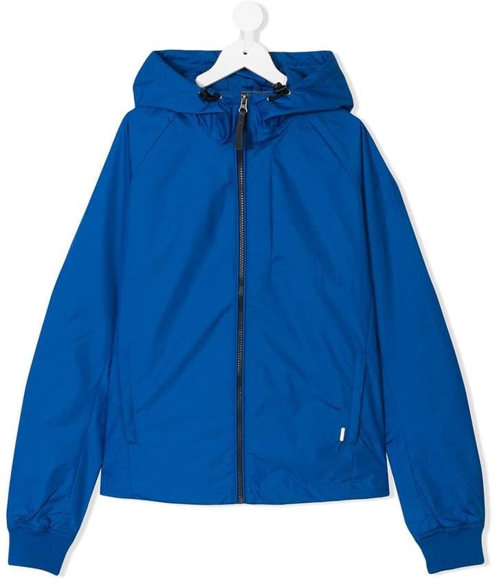 Woolrich Kids lightweight zip up jacket