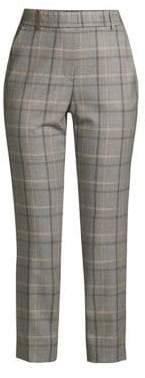 Peserico Shimmer Plaid Pants