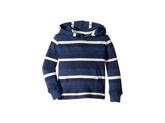 Polo Ralph Lauren Striped Waffle Knit Hoodie (Toddler)