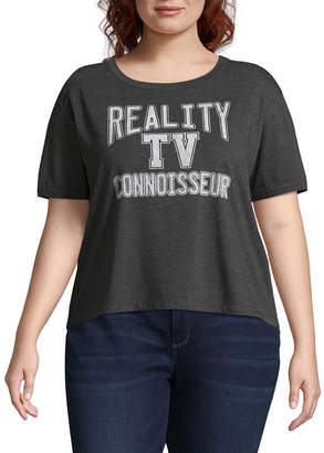 Fifth Sun Reality TV Tee - Juniors Plus