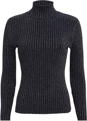 A.L.C. Marso Midnight Silver Turtleneck