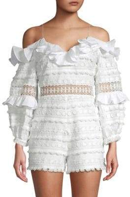 Alexis Ramyna Tiered Ruffle Romper