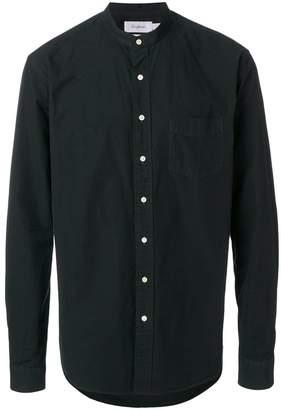 Schnaydermans round-neck button shirt