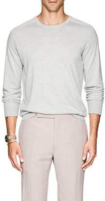 P. Johnson Men's Silk-Cotton Crewneck Sweater