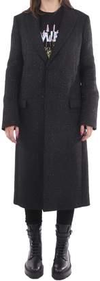 Amiri Black Fitted Coat