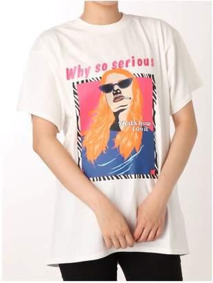 Jouetie (ジュエティ) - jouetie カラーグラフィックTシャツ