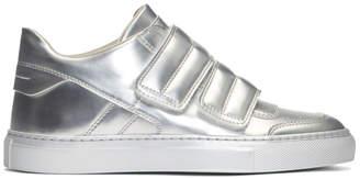 Maison Margiela Silver Mirror Sneakers