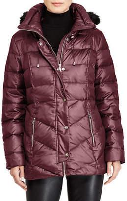 637ea9addb743 Ralph Lauren Faux Leather Trim Quilted Jacket Plus Size - Best Quilt ...