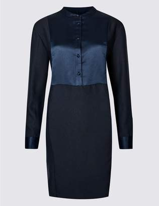 Marks and Spencer Long Sleeve Tunic Dress