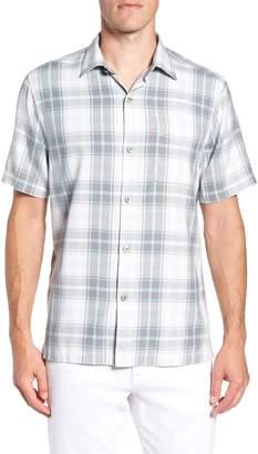 Tommy Bahama Zamora Plaid Silk Sport Shirt