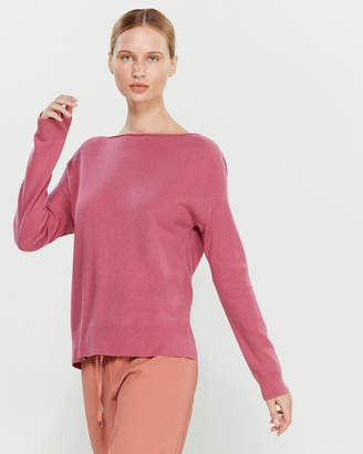 Liviana Conti Draped Crisscross Back Sweater