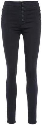J Brand 'Natasha' high rise skinny jeans