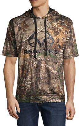 Realtree Short Sleeve Knit Camouflage Hoodie