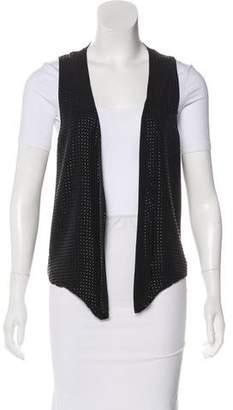 L'Agence Textured Silk Vest
