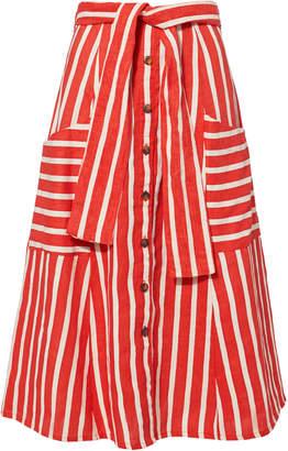Faithfull The Brand Gonzales Midi Skirt