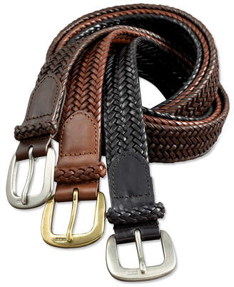 Polo Ralph Lauren Men Belt, Core Derby Braided Belt