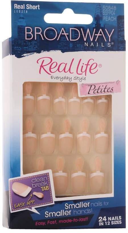 Broadway Nails Real Life Press-On Petites Nails Real Short Peach