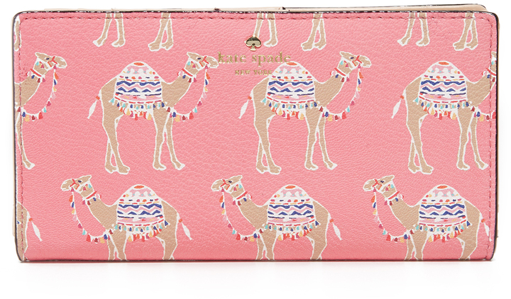 Kate Spade Kate Spade New York Camel March Stacy Continental Wallet