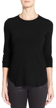 Petite Women's Eileen Fisher Crewneck Top $98 thestylecure.com