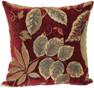 Asstd National Brand Jacquard 18 Floral Decorative Pillow