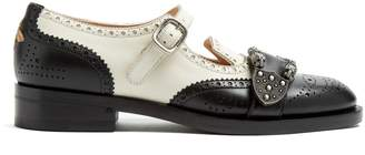 Gucci Queercore leather brogues